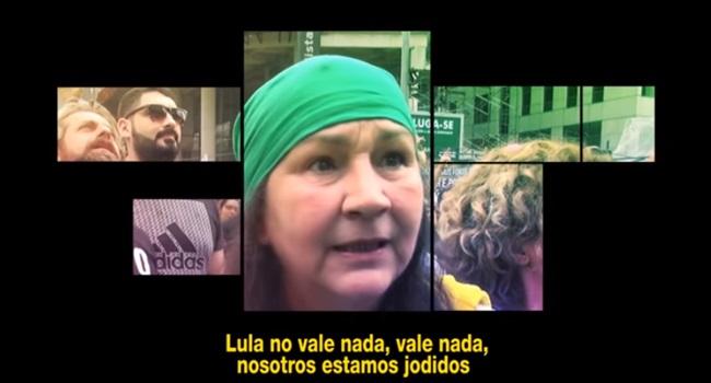 El Odio documentário vergonha do Brasil pt lula dilma corrupção