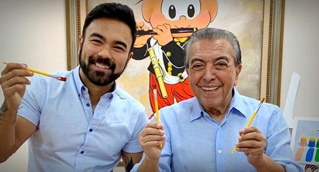 Filho de Maurício de Souza criar personagem gay ataque homofóbico instagram