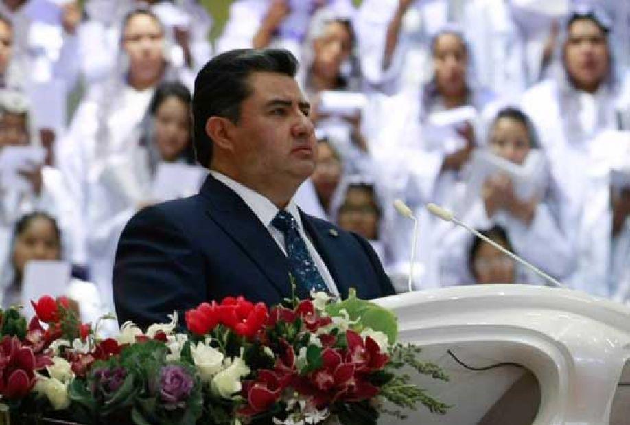líder de igreja Naasón Joaquín García
