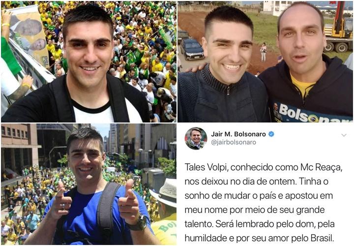 MC Reaça suicídio bolsonaro grávida