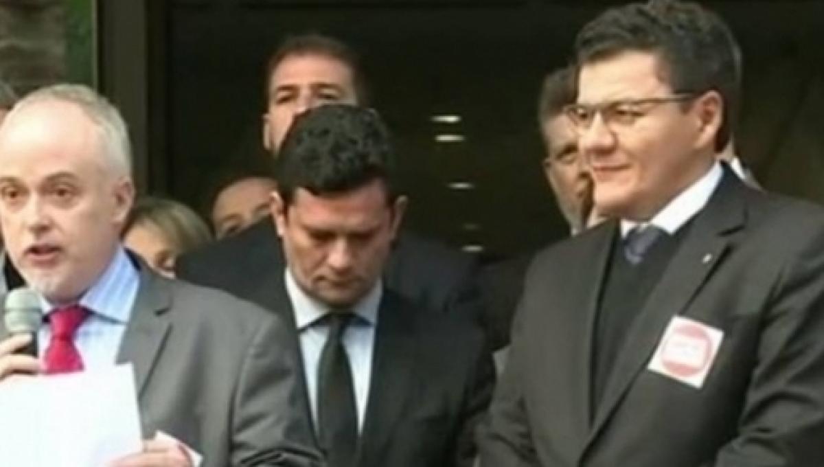 Sergio Moro Carlos Fernando Santos Lima