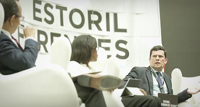 Sergio Moro leva enquadrada de duas mulheres em Portugal