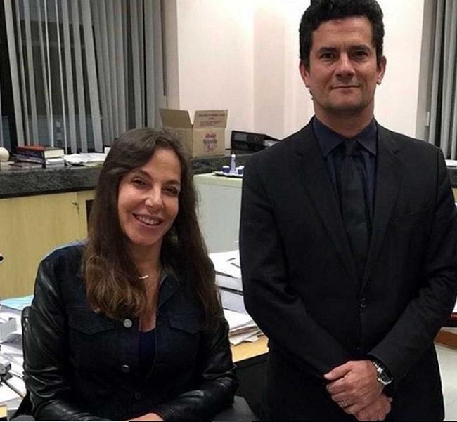 Sergio Moro Mara Gabrilli diálogos
