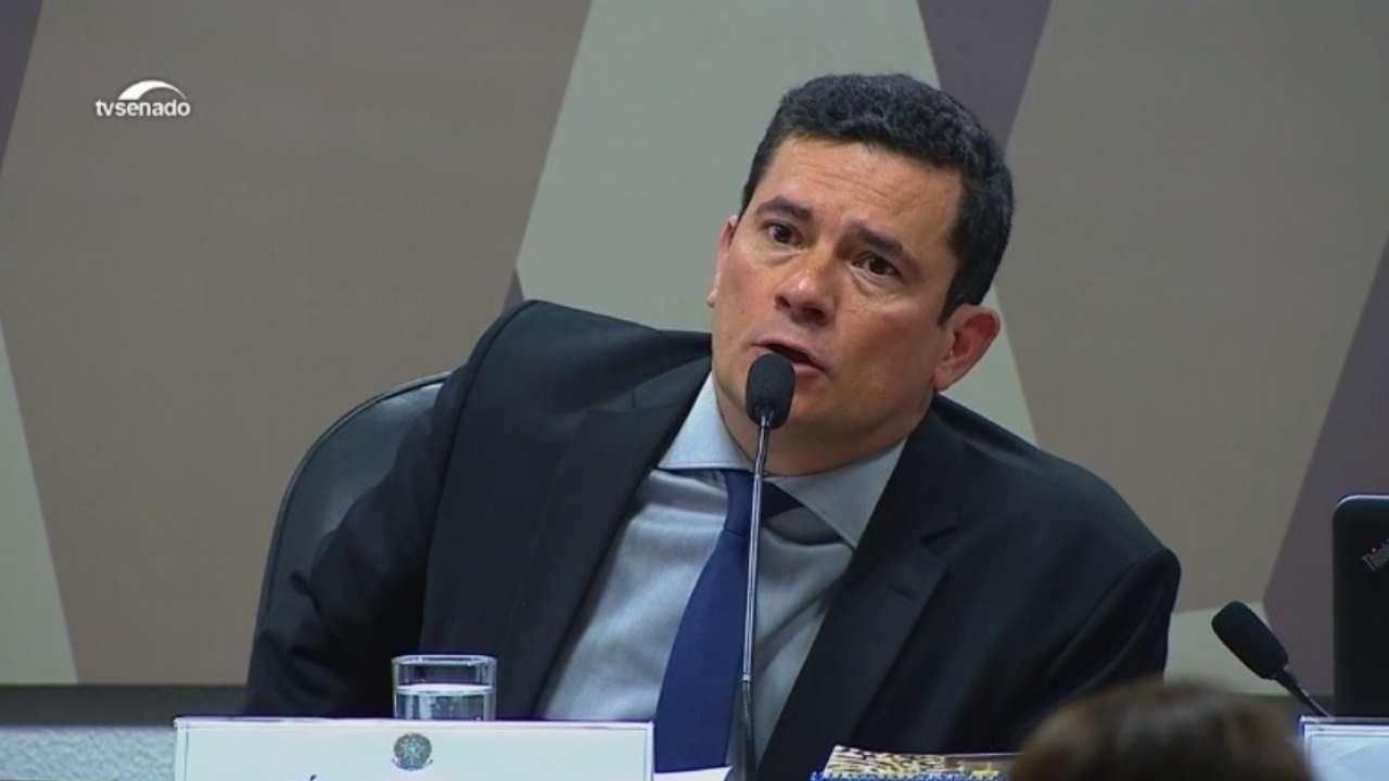 Sergio Moro CCJ Senado