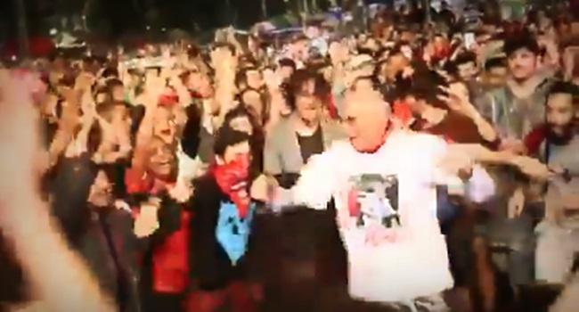 Vídeo de Suplicy dançando no Festival Lula Livre viraliza nas redes