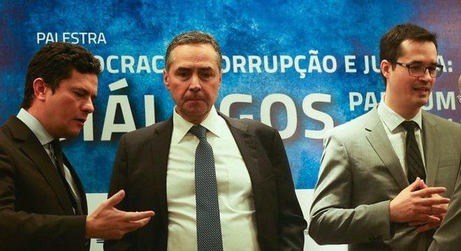 Barroso Moro Dallagnol jantar