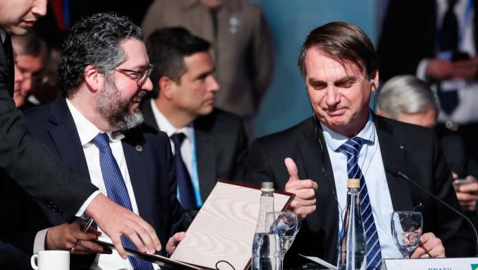 bolsonaro gafes mercosul presidentes