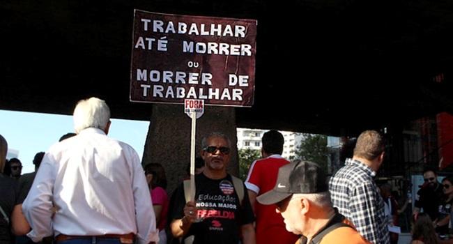 Efeitos da Reforma da Previdência trabalhador aposentados economia brasileira
