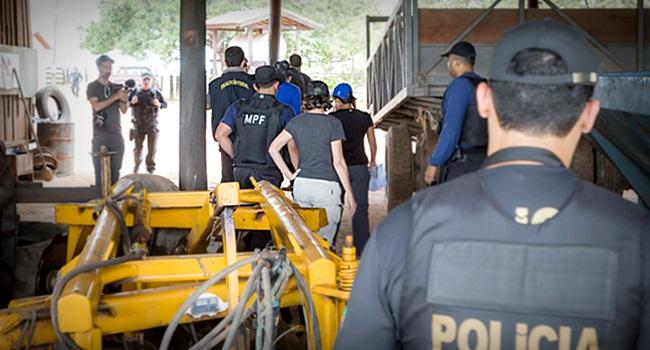 governo Bolsonaro combate ao trabalho escravo cai exploração