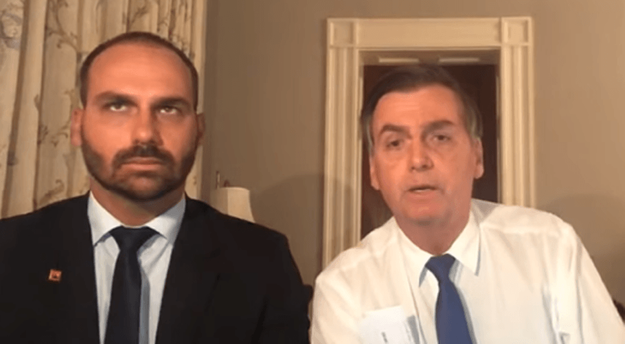 embaixador do Brasil eduardo bolsonaro