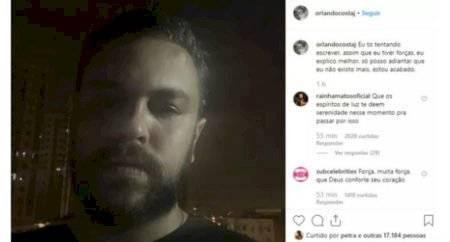 Orlando Costa noivo suicídio