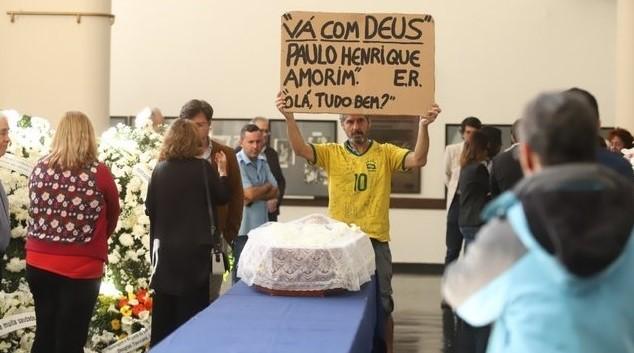 velório de Paulo Henrique Amorim