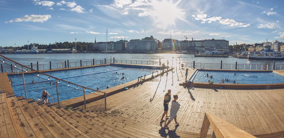 finlândia piscina pública vestiário