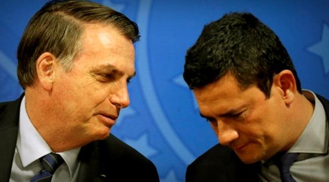 Sergio Moro vaza para Bolsonaro investigação sigilosa sobre laranjas do PSL