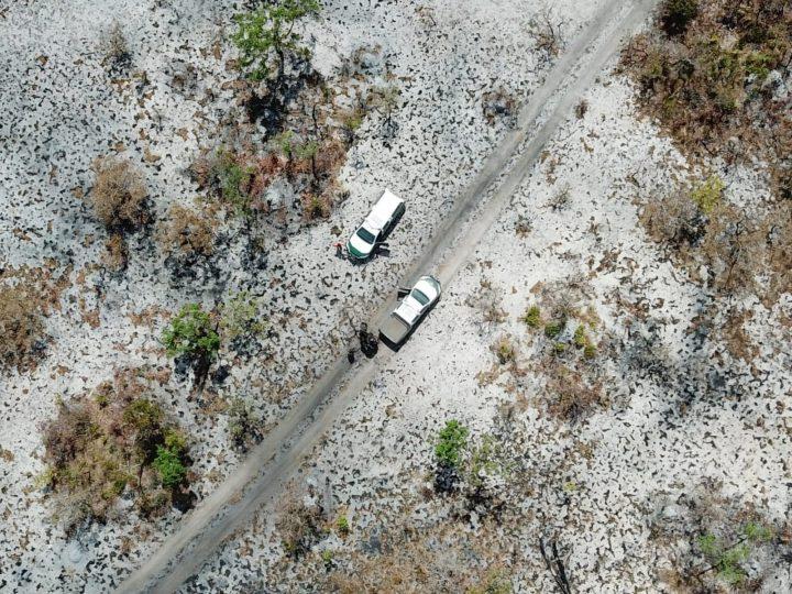 queimada terra indígena MT