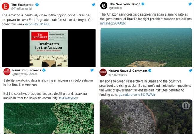 desmatamento na Amazônia Bolsonaro