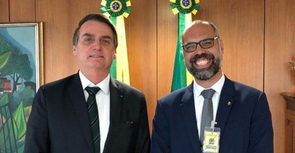 Bolsonaro e Allan dos Santos