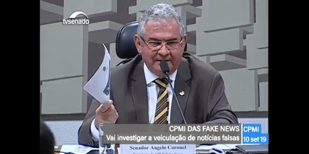 Angelo Coronel fake news