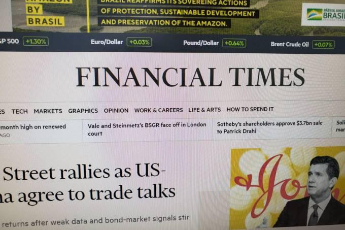 publicidade governo financial times