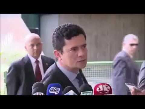 sergio moro foge entrevista coletiva