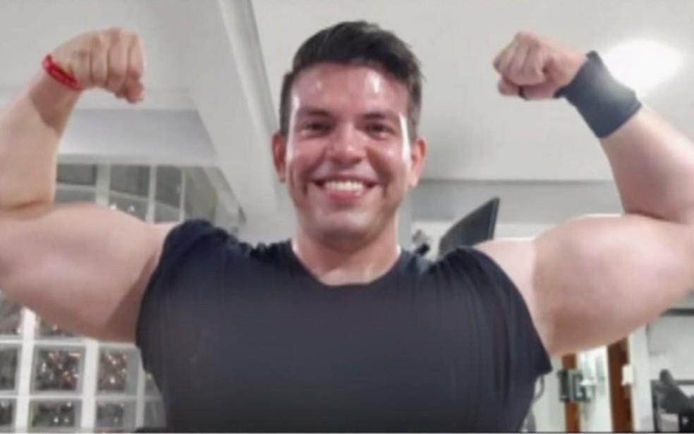 personal trainer Murilo Morais