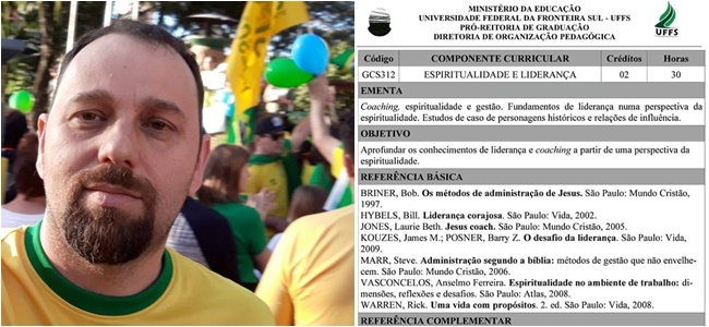 reitor bolsonaro Marcelo Recktenvald