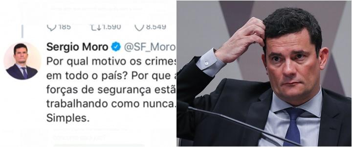 sergio moro erro de português