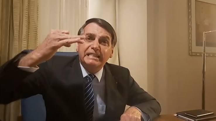 bolsonaro live facebook marielle franco