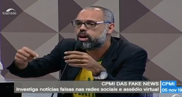 Allan dos Santos fake news