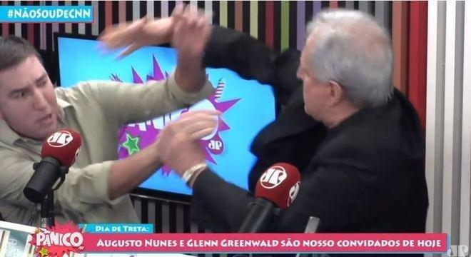 augusto nunes glenn greenwald