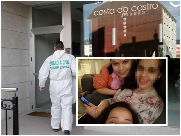 brasileira morta filho espanha