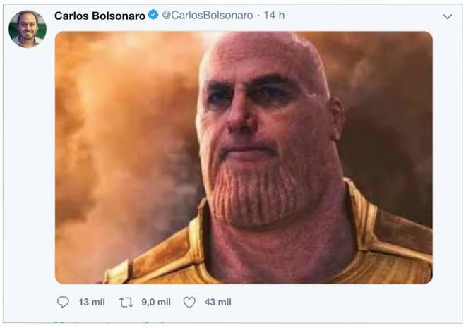 carlos bolsonaro thanos
