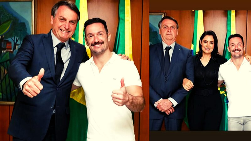 Diego Hypólito Jair Bolsonaro Michelle