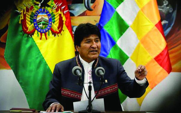 golpe na bolívia renúncia de evo