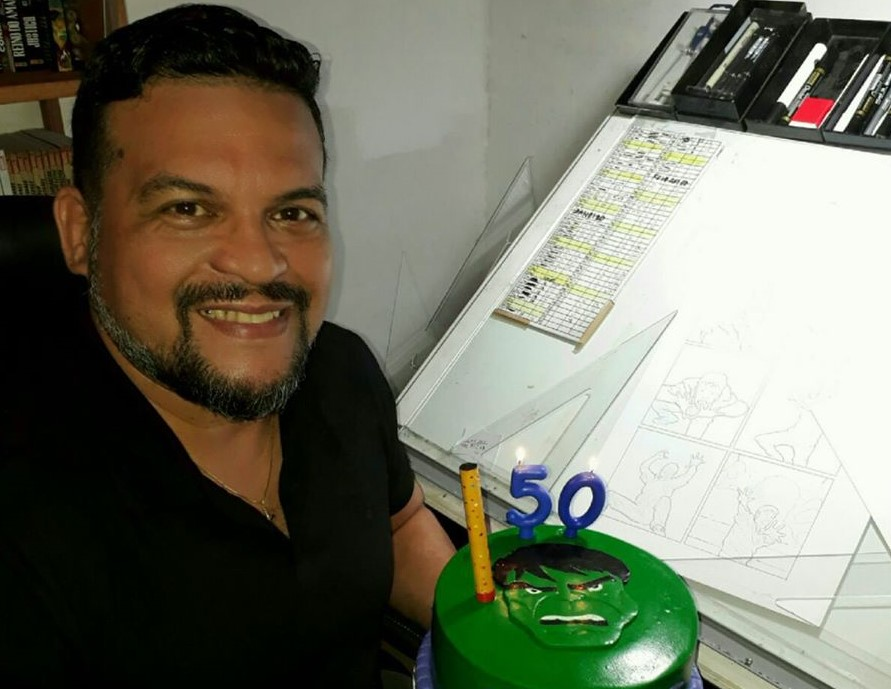 Joe Bennett desenhista da marvel