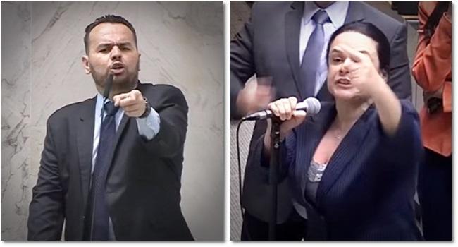 Janaína Paschoal aliado de Eduardo Bolsonaro baixaria Alesp carteiro reaça