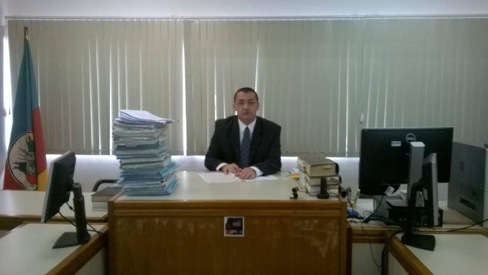 O juiz Ralph Moraes Langanke