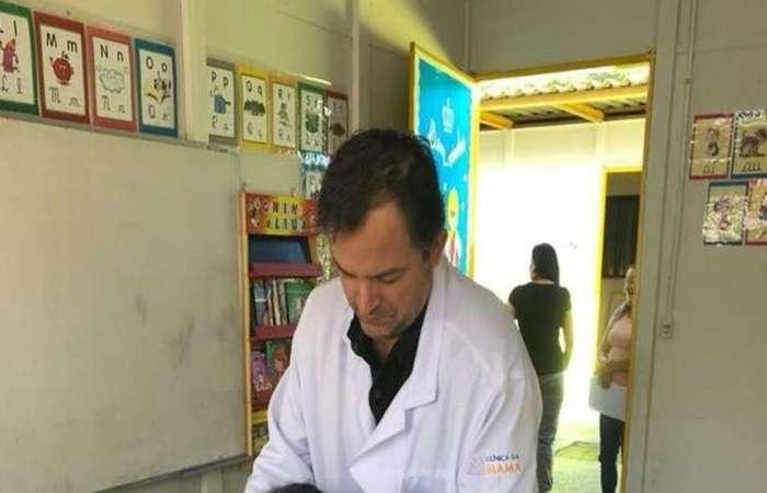 O médico Luiz Augusto Rodrigues