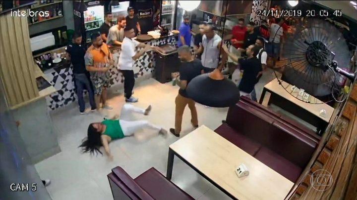 mulher agredida bar bh