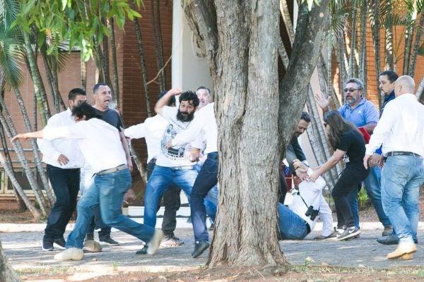 invasão da embaixada venezuela