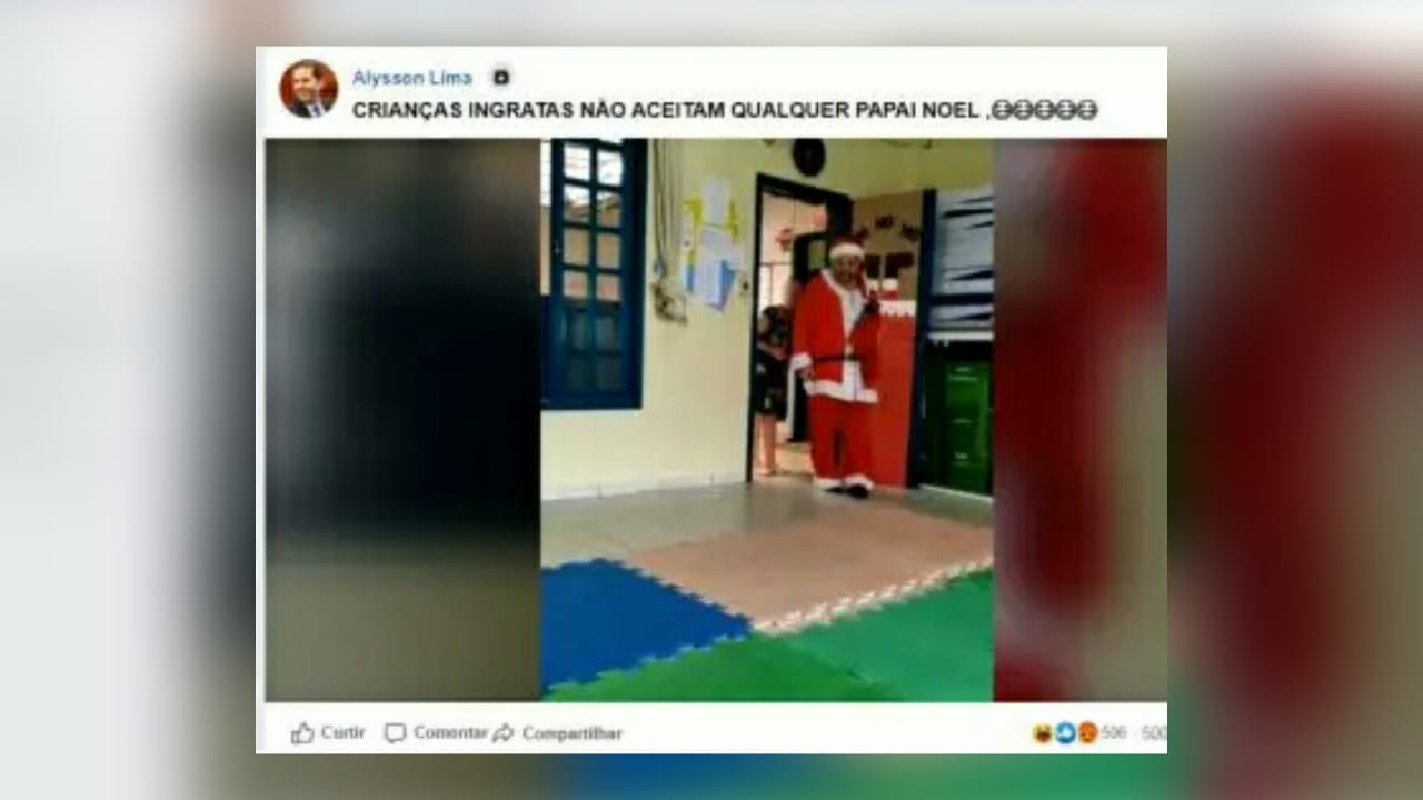 deputado debocha papai noel deficiente