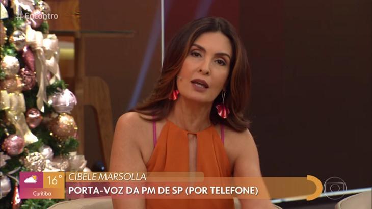 Fátima Bernardes porta-voz PM