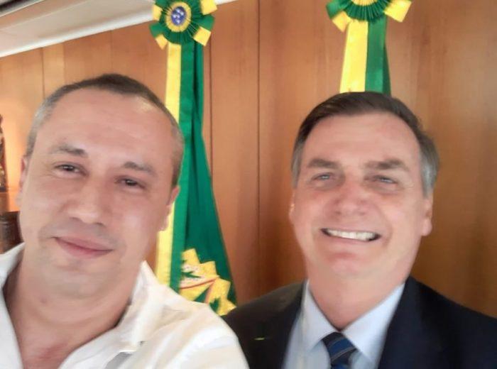 Alvim e Bolsonaro
