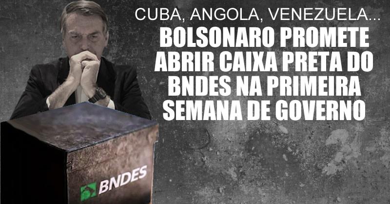 bolsonaro caixa preta do BDNES
