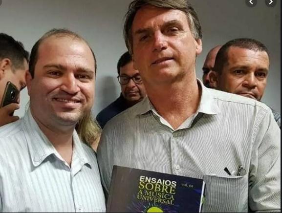 Dante Mantovani Jair Bolsonaro