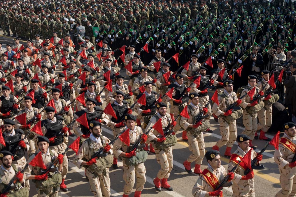 poder militar irã