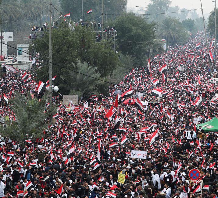marcha iraque EUA