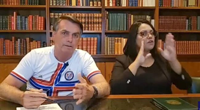 Jornalista publica vídeos e desmascara mentiras Bolsonaro manifestação 15