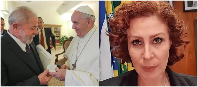 Lula Papa Francisco