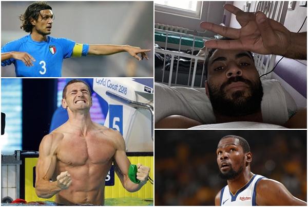 atletas coronavírus